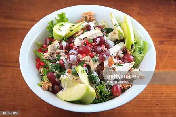 Turkey waldorf salad Styling by Sheryl Julian and Valerie Ryan