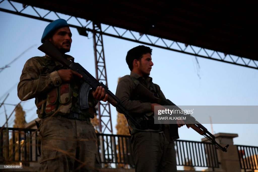 SYRIA-CONFLICT-AFRIN : News Photo