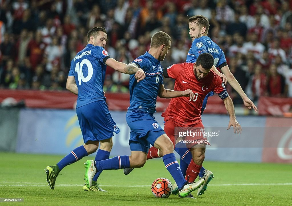 Turkey v Iceland - UEFA Euro 2016 qualifying : News Photo