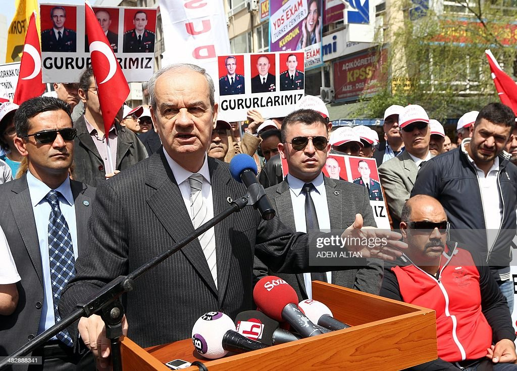 TURKEY-POLITICS-ARMY-COURT : News Photo