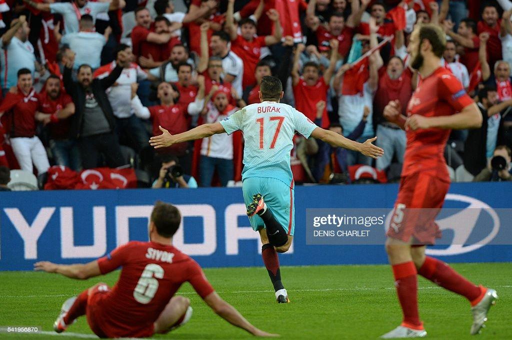 FBL-EURO-2016-MATCH31-CZE-TUR : News Photo