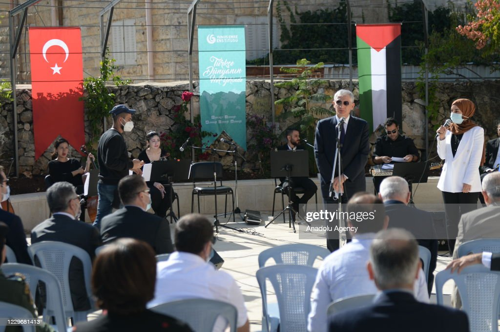 Turkey-Palestine friendship concert in Ramallah : Nieuwsfoto's