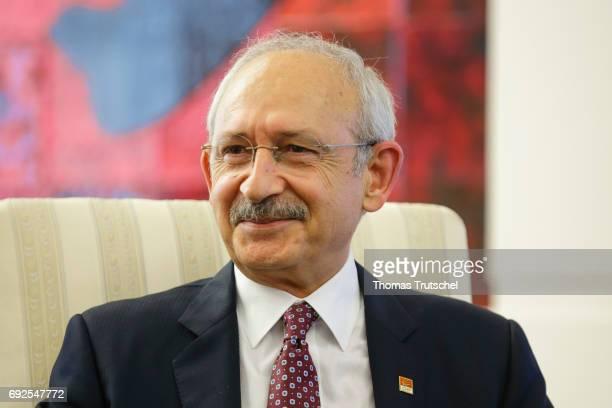 Turkey's main opposition Republican People's Party leader Kemal Kilicdaroglu on June 05 2017 in Ankara Turkey