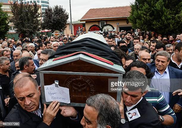 Turkey's main opposition Republican People's Party Secretary General Gursel Tekin , Union of Turkish Bar Associations head Metin Feyzioglu and...
