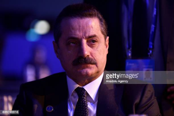 Turkey's Minister of Food Agriculture and Livestock Minister, Faruk Celik attends the opening session of International Fund for Agricultural 's 40th...