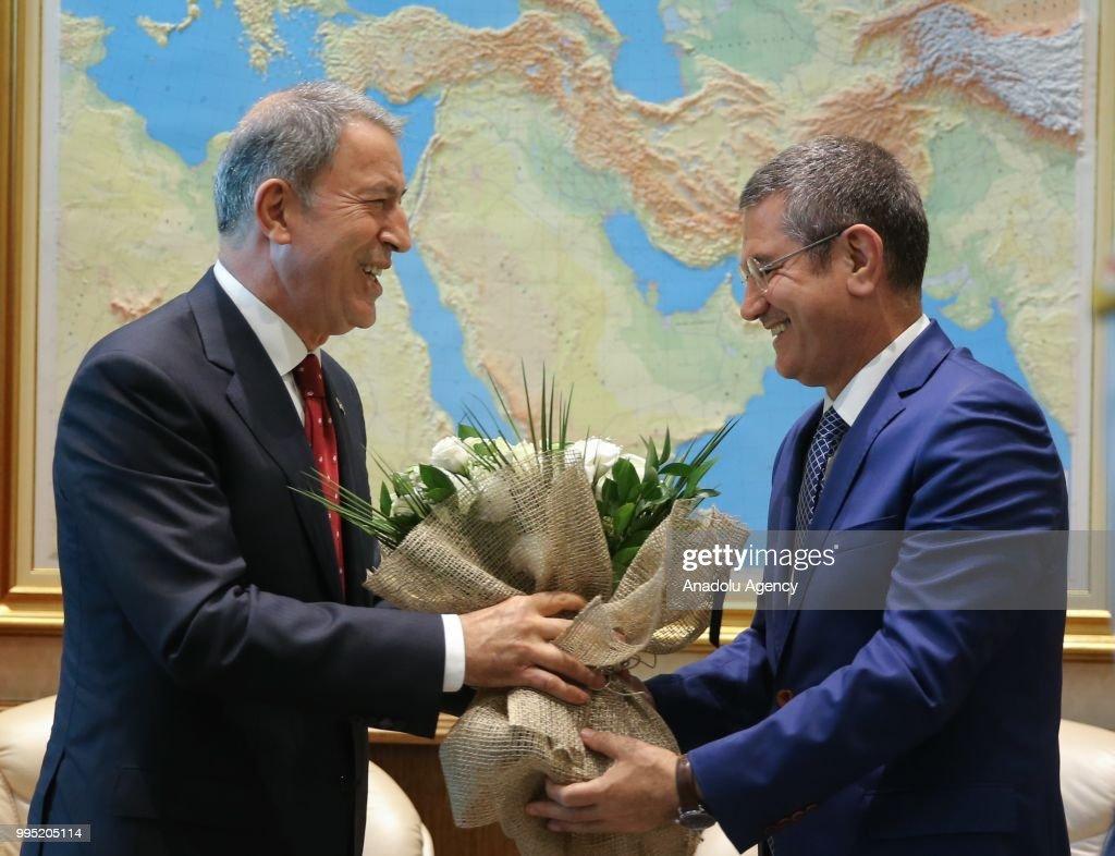 New National Defense Minister Hulusi Akar News Photo