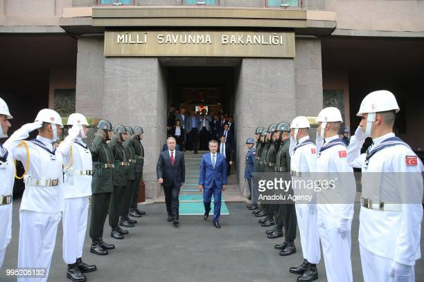 New National Defense Minister Hulusi Akar Pictures