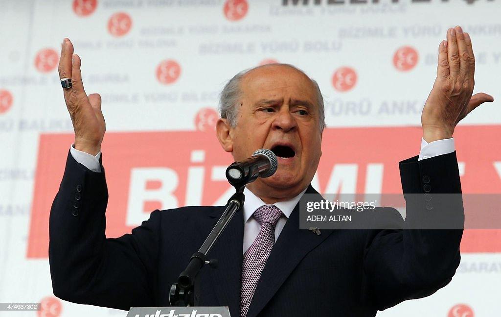 TURKEY-POLITICS-ELECTION-VOTE-MHP : News Photo