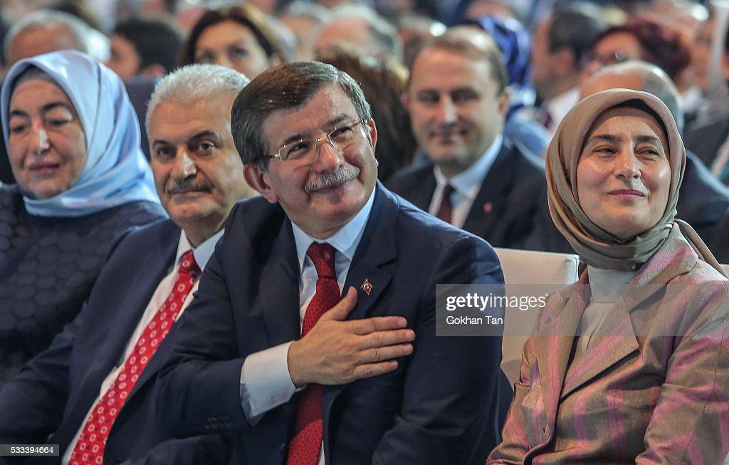 Binali Yildirim Is Announced As Turkey's New Prime Minister : Nieuwsfoto's