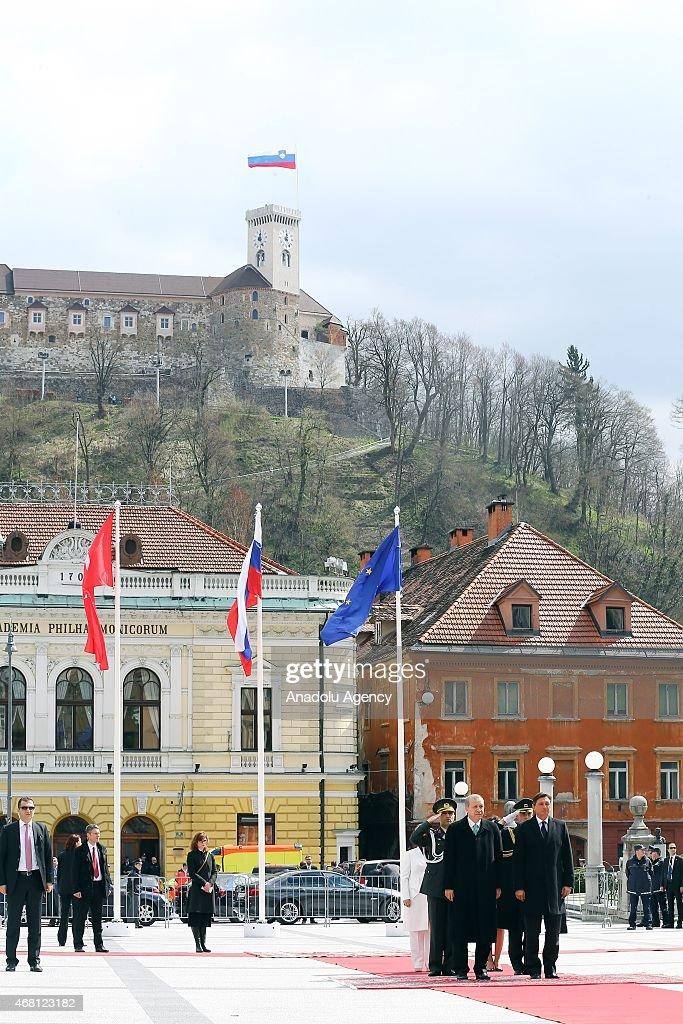 Turkish President Erdogan visits Slovenia