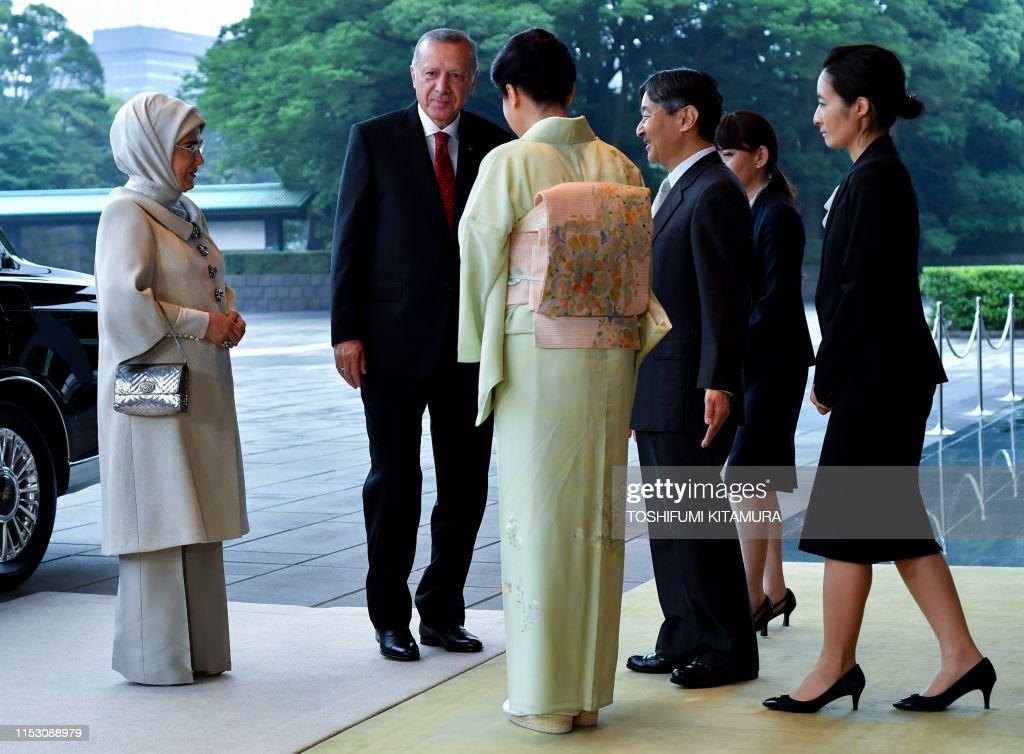 JAPAN-TURKEY-DIPLOMACY : News Photo