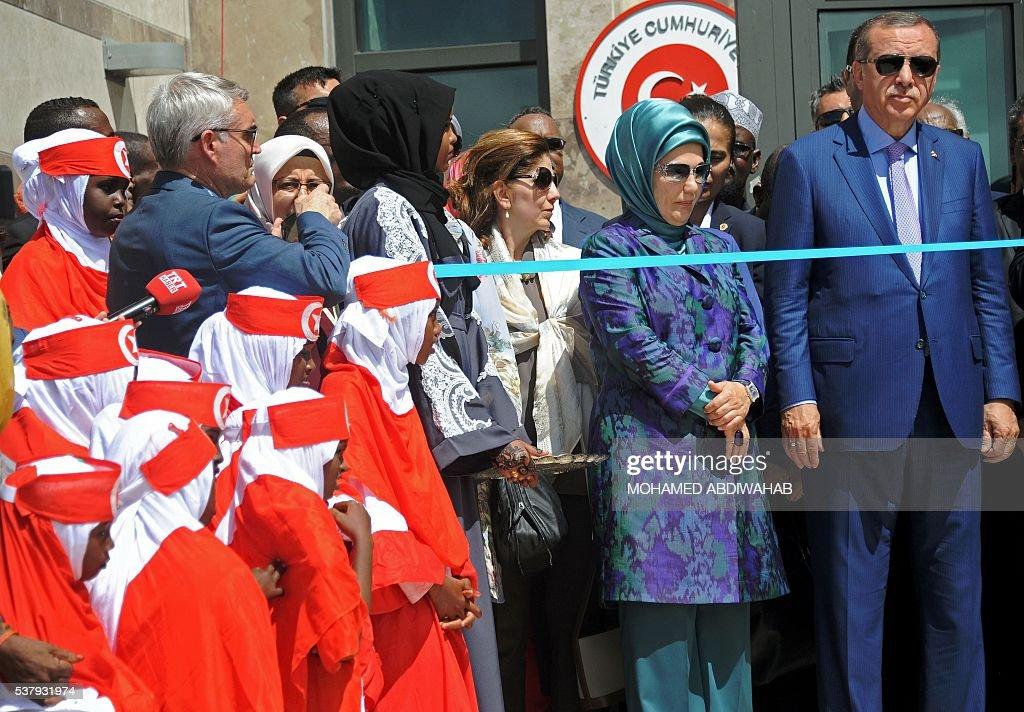 SOMALIA-TURKEY-POLITICS-DIPLOMACY : News Photo