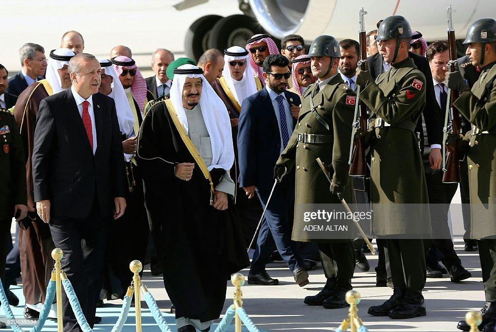 SAUDI-TURKEY-DIPLOMACY : News Photo