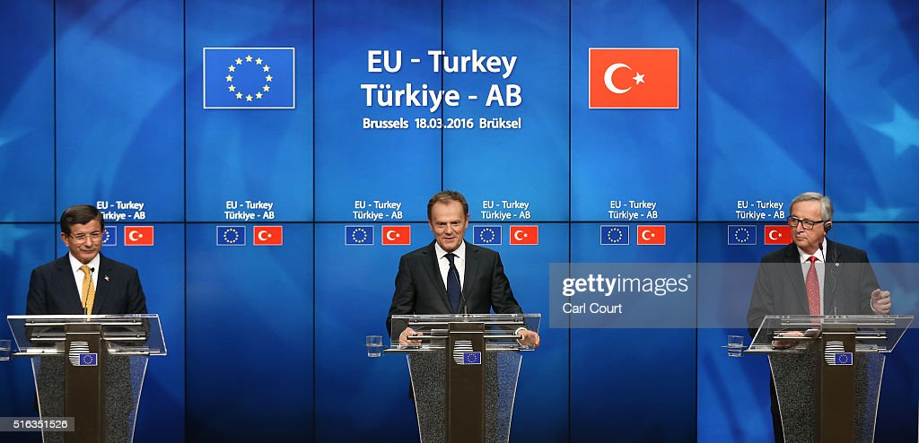 EU Heads Of State Meet With Turkey To Finalise Migrant Deal