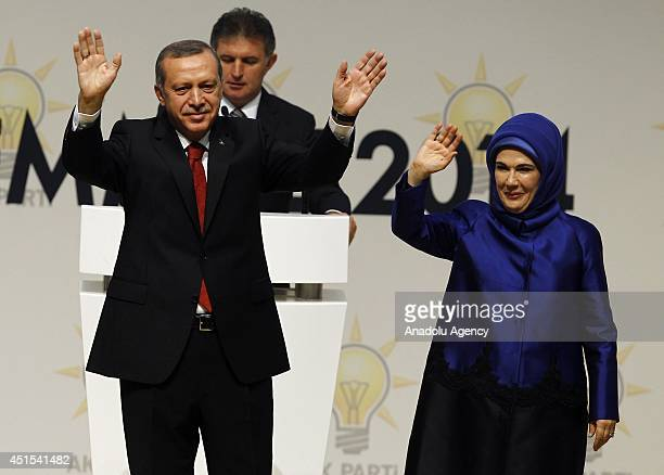 Turkey's ruling AK Party nominates Prime Minister Recep Tayyip Erdogan as presidential candidate for Turkey's August 10 presidential election July 1...