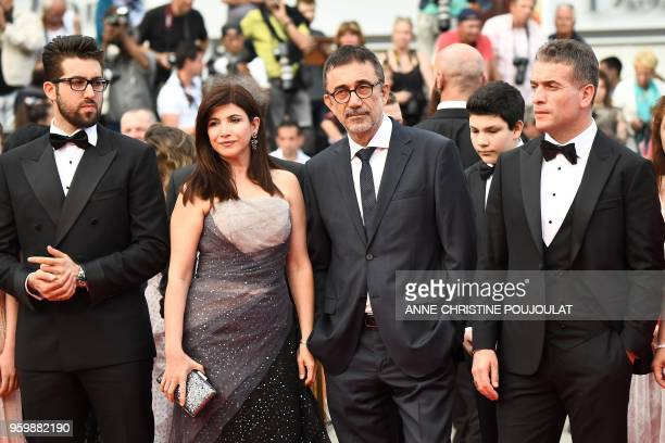 Turkish actor Aydin Dogu Demirkol Turkish actress Ebru Ceylan her husband Turkish director Nuri Bilge Ceylan their son Ayaz Ceylan and Turkish actor...