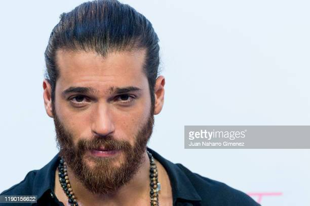 Turkish actor Can Yaman attends 'Volverte a ver' photocall on November 26, 2019 in Madrid, Spain.