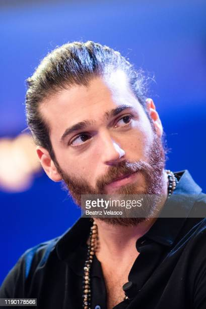 "Turkish actor Can Yaman attends ""Volverte a ver"" photocall on November 26, 2019 in Madrid, Spain."