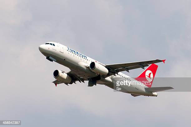 Turkish airlines taking off