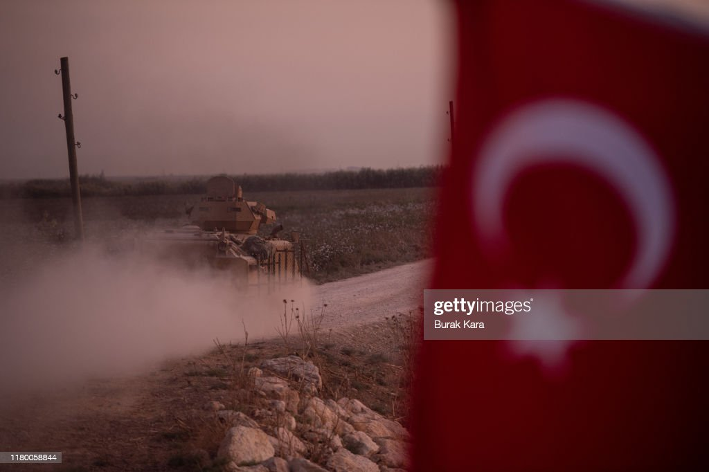 Turkey Moves Forces Into Northern Syria : News Photo