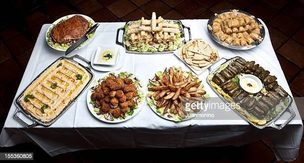 Turkish buffet