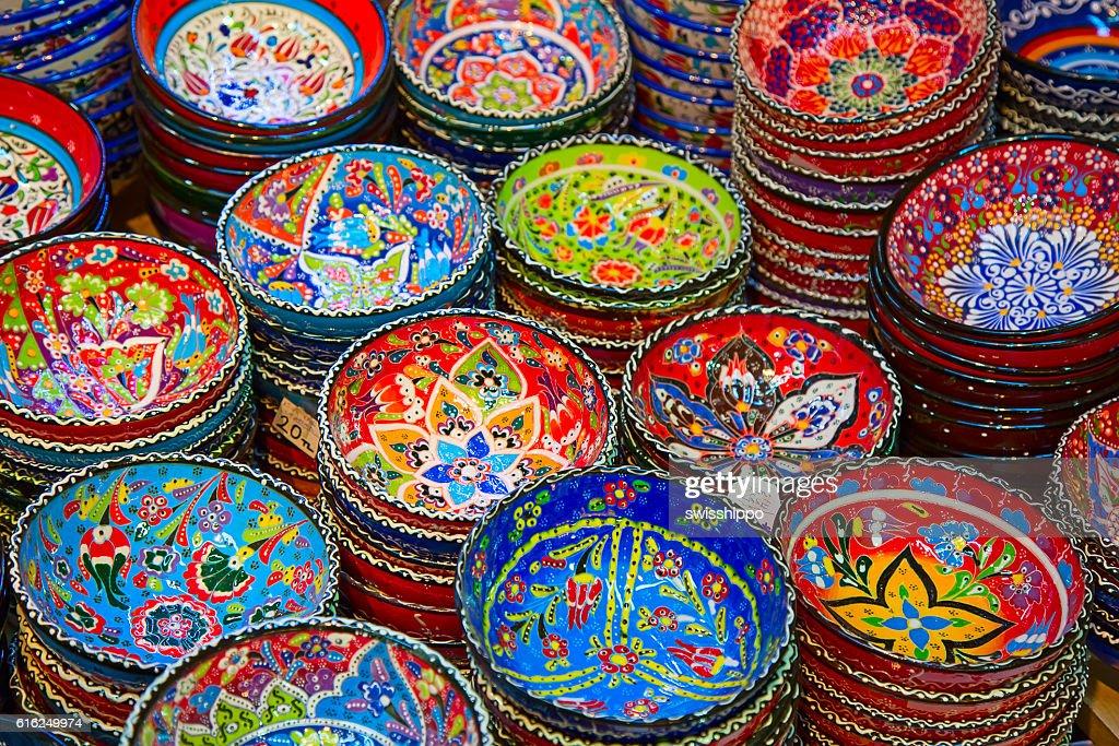 Cerâmica Turca : Foto de stock