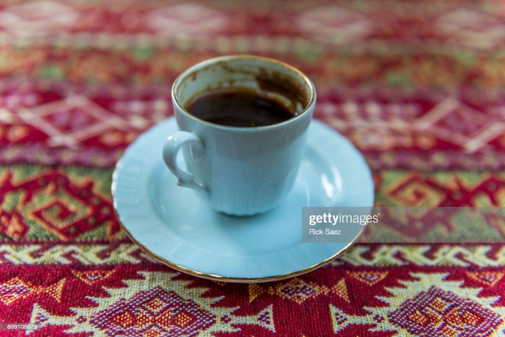 Turkish Coffee in cup : Stock Photo