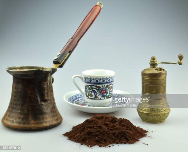 turkish coffee - crucíferas - fotografias e filmes do acervo