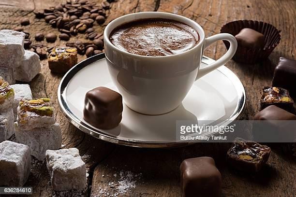 Turkish Coffee with Turkish Delights