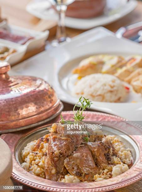 turkish cuisine - iftar stock pictures, royalty-free photos & images
