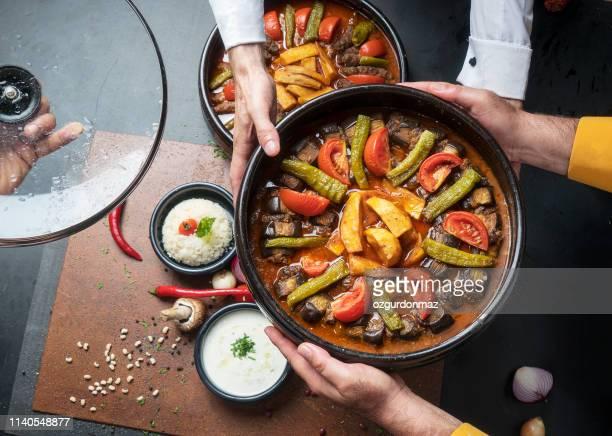 cuisine turque - bonne fete de ramadan photos et images de collection