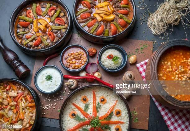 culinária turca - ramadã - fotografias e filmes do acervo