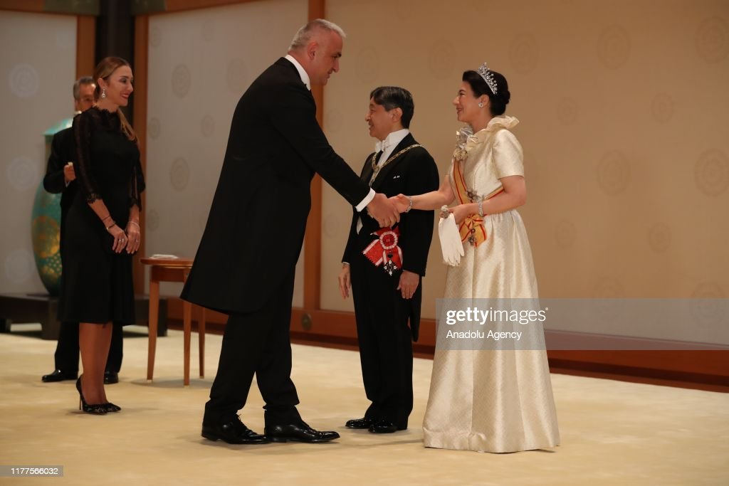 Enthronement Ceremony Of Emperor Naruhito In Japan : News Photo