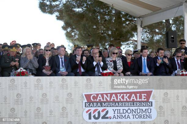 Turkish Culture and Tourism Minister Nabi Avci Australian Minister for Foreign Affairs Julie Bishop British Ambassador to Turkey Richard Moore and...
