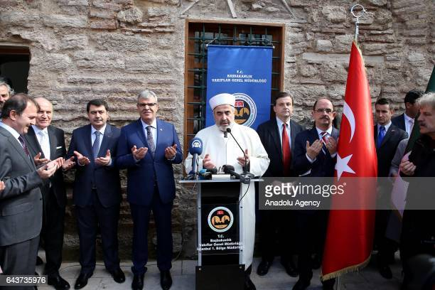 Turkish Deputy Prime Minister Veysi Kaynak , Italian Minister of Economic Development Carlo Calenda , Governor of Istanbul Vasip Sahin , General...