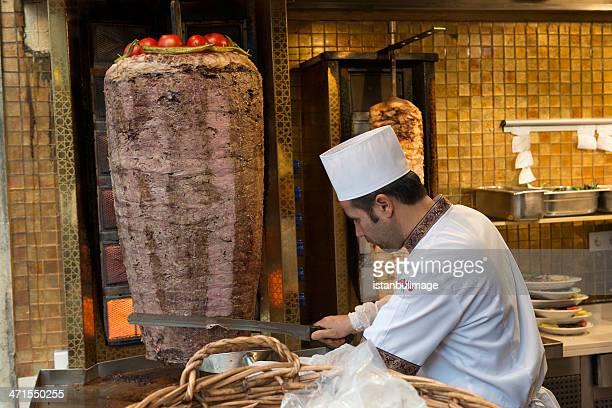 Türkische doner kebab