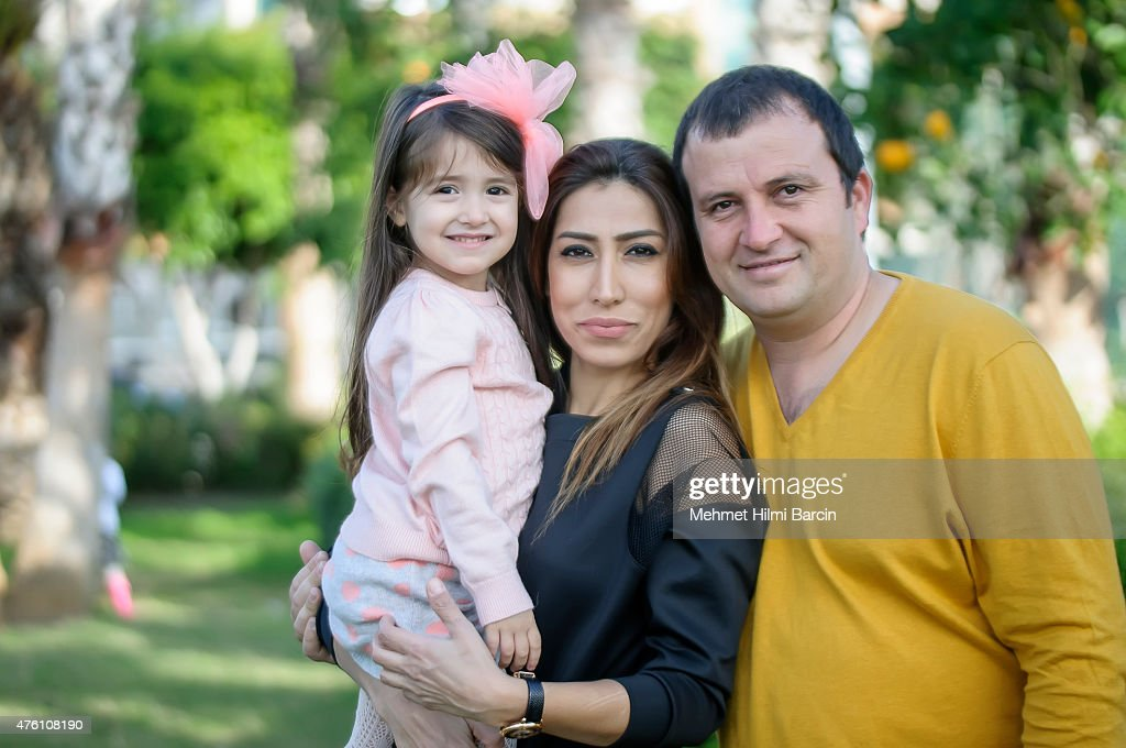 Turkish family on weekend : Stock Photo