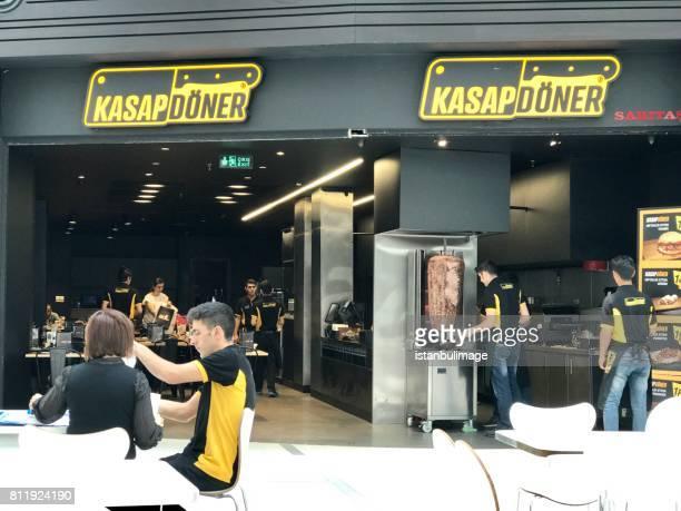 Türkische berühmten Fast-Food-Restaurant, heißt Kasap Döner.