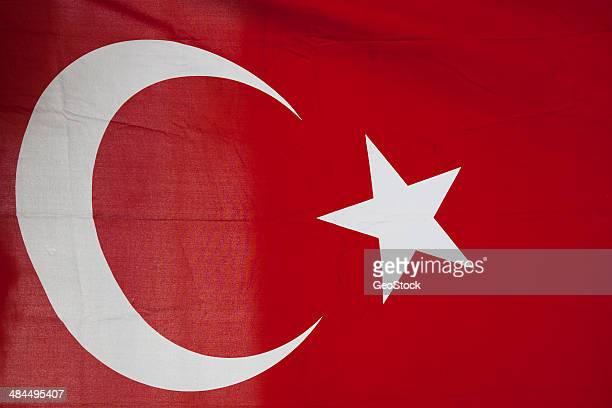 Turkish flag, full frame