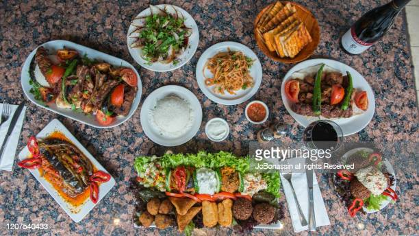 turkish food - jcbonassin stock-fotos und bilder