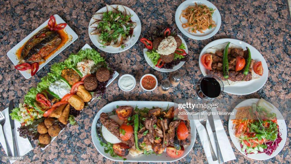 Turkish food : Stock Photo