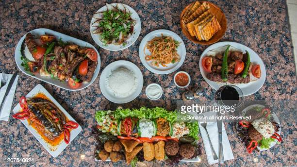 turkish food - jcbonassin stock pictures, royalty-free photos & images