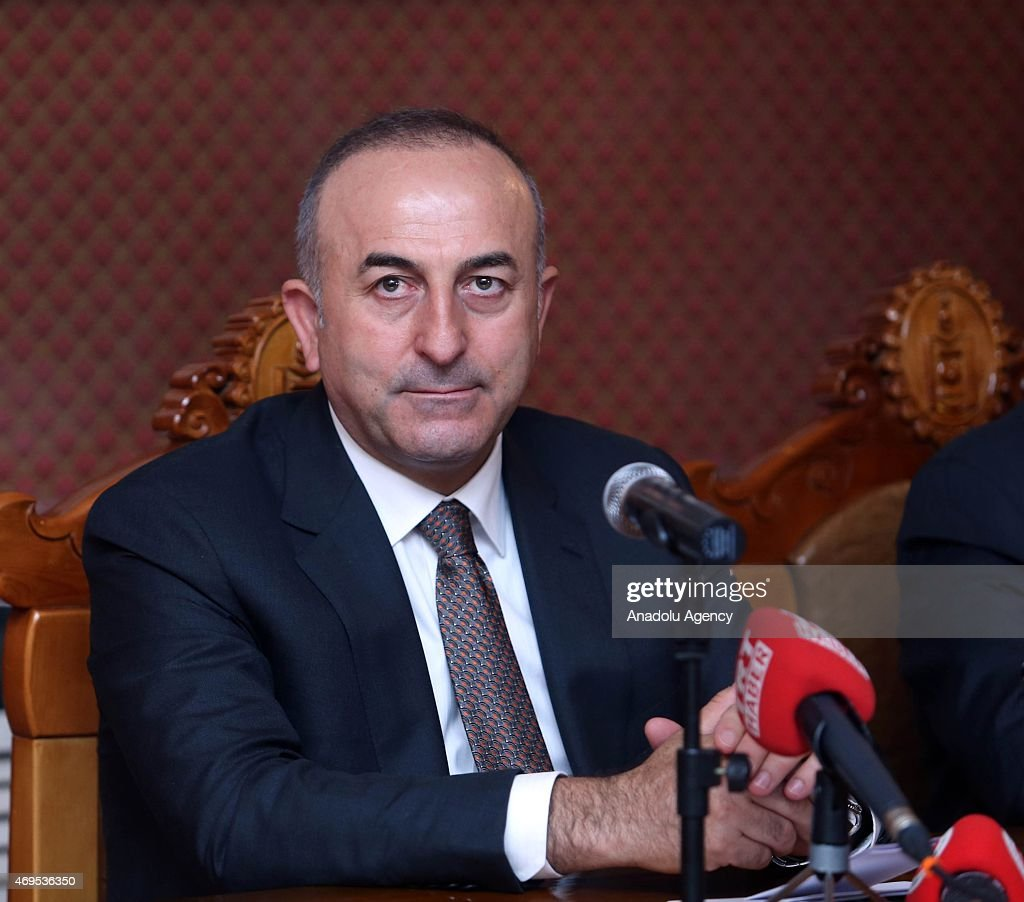 Turkish FM Mevlut Cavusoglu in Mongolia