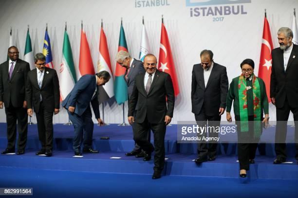 Turkish Foreign Minister Mevlut Cavusoglu Pakistani Foreign Minister Khawaja Mohammed Asif Iranian Deputy Foreign Minister Morteza Sarmadi Indonesian...