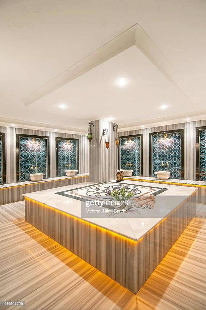 Turkish Hamam Bath Modern Design Stock Photo | Getty Images on gym home, steam room home, private beach home, safe home, animation home, lounge home, internet home, sauna home, hot tub home, car parking home, turkish decor, turkish furniture,