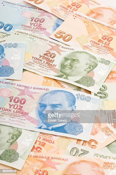 turkish liras - italian currency stock pictures, royalty-free photos & images