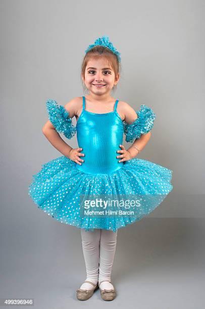 turkish little ballerina - beautiful turkish girl stock pictures, royalty-free photos & images