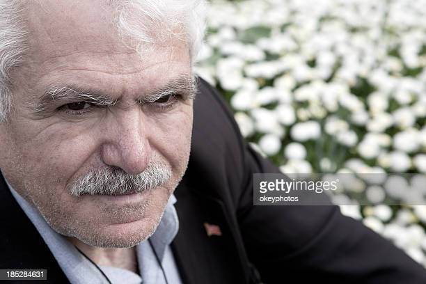 turkish man - hairy old man stock pictures, royalty-free photos & images