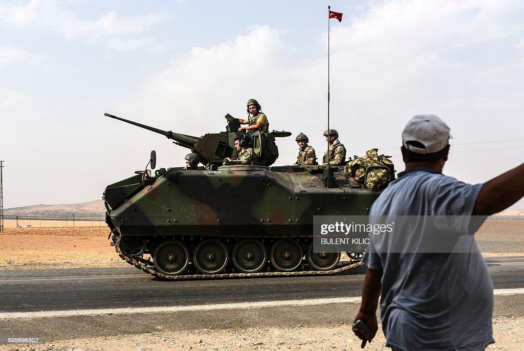 TURKEY-SYRIA-CONFLICT : News Photo