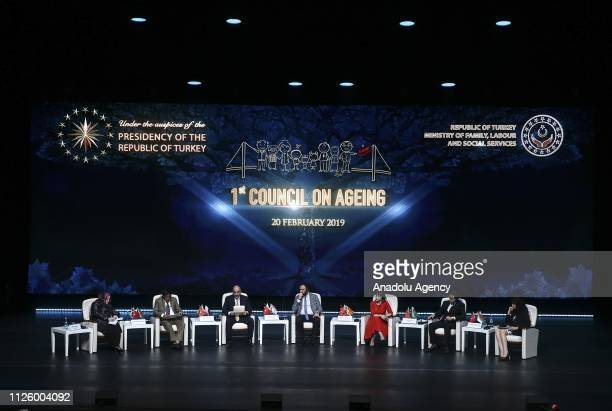 Turkish Minister of Labor, Social Services and Family Zehra Zumrut Selcuk , Qatari Minister of Administrative Development, Labour and Social Affairs...